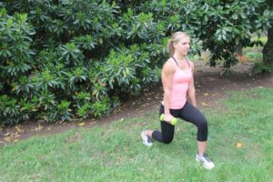Summer Fitness Lunges