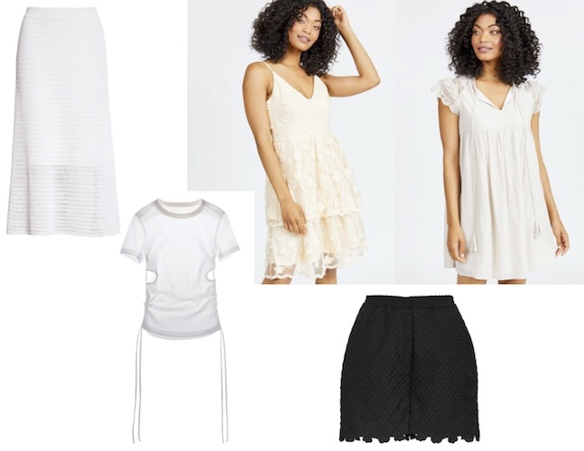 Modest Summer Dresses with Lace and Cut Outs