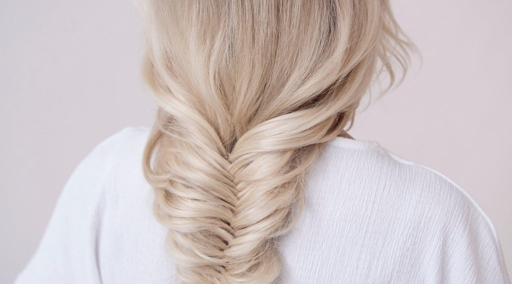 Fishtail Braid for Back to School Hairstyles